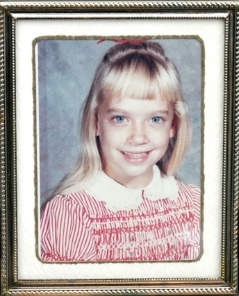My older sister, Cheryl. ~ Jim