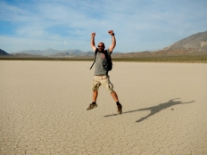 Me at Racetrack Flats in Death Valley