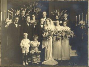 Grandma and Grandpa Begley's Wedding.