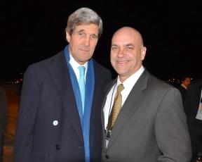 Secretary of State John Kerry and me
