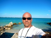 Me at my new duty station in the Bahamas
