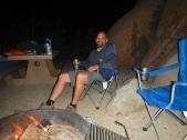 Me camping at Joshua Tree National Park, CA